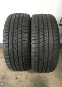 2x P235 45r17 Michelin Pilot Sport A s 3 Plus 9 32 Used Tires