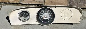 1960s Ford Truck Dash Cluster With Tachometer 1968 72 F100 F250 Swap