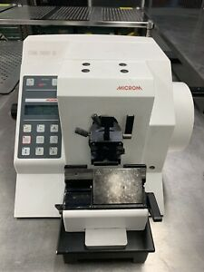 Thermo Fisher Microm Hm 355s Automatic Rotary Microtome W Foot Pedal 905480