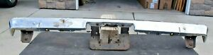 1971 73 Chevy Vega Gt Hatchback Oem Rear Bumper With Jack Slots Light