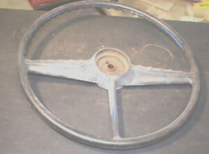 1956 Vintage Chevrolet Pickup Truck Steering Wheel 18 Oem