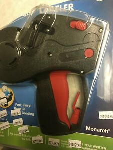 Monarch 925072 Pricemarker Label Price Tag Gun 1 Line 8 Characters Roll Holders