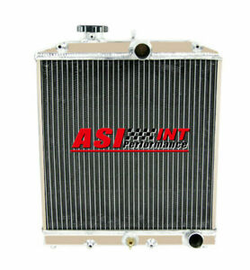 3 Row Aluminum Radiator For 1992 2000 99 98 Civic Ej ek del Sol Eg integra Db Dc