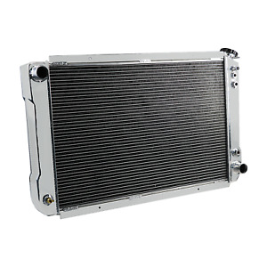 56mm Aluminum Radiator 1970 81 1976 Pontiac Firebird Trans Am Bb Chevy