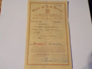 1951 Hudson Brougham Historical Paperwork Document Hot Rod Rat Rod Rare