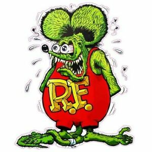 2 Pack Vintage Racing Rat Fink Sticker Big Daddy Ed Roth 2 Stickers