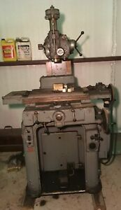 Hauser Jig Boring Machine With 2 Morse Taper Collets 8