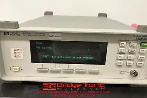 Agilent 86120b Multi wavelength Meter 700 1650nm