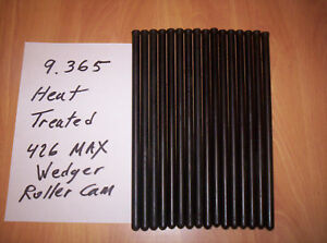 Mopar 426 413 Max Wedge Solid Cam Isky Pushrods Chromoly 9 365 Heat Treated