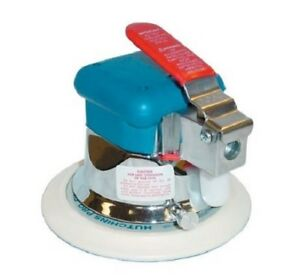 6 Inch Orbital Sander Vibration Free Motor Over Size Drive Head Powerful Air NEW