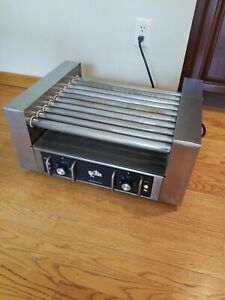 Used Star 25 Pro Hot Dog Roller 10 Rollers 2 Zones Works Good