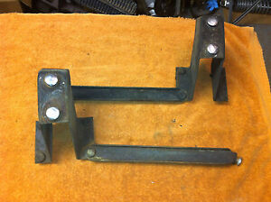 1970 Amc American Motors Rebel Machine Rebel Sst Rear Bumper Brackets
