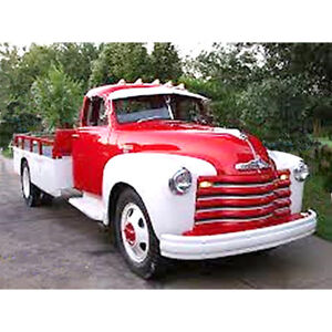 1948 1949 1950 1951 1952 1953 Chevrolet 1 1 2 And 2 Ton big Truck Flash Sale