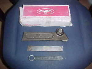 Nib Williams Th 24 Lathe Parting Tool Holder With Blade Wrench Cut Off Usa
