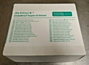 Intuitive Da Vinci Si Green 4 3mm Endowrist Stapler 45 Reload