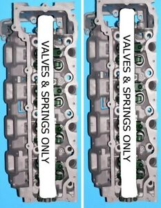 2 Chrysler Jeep 4 7 Sohc Dual Plug Cylinder Heads Val spring Only 08 12 No Core
