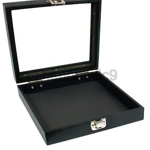 Glass Top Display Case 36 Slot Ring Insert Liner New