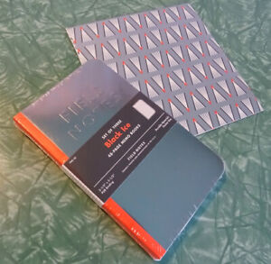 Black Ice Field Notes 3 Pack Unopened Includes Rare Issued Wrapping Paper