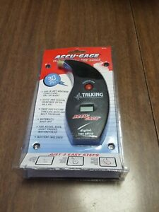Accu Gage Talking Digital Tire Gauge 99 5 Max Psi Brand New