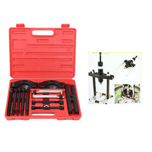 14pcs Gear Bearing Flywheel Puller Separator Splitter Work Tool Kit Set