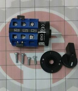 New Rotary Switch With Knob For Accuturn Brake Lathes 30 Amp