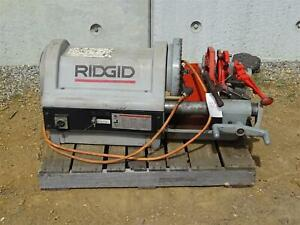 Ridgid 1224 4 Pipe Threading Machine
