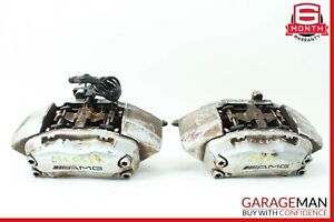 02 04 Mercedes W203 C32 Amg Brembo Front Right Left Brake Caliper Calipers Set