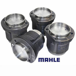Vw Air Cooled 1600cc Mahle Cast Pistons Cylinders 85 5mm X 69mm Set Of 4