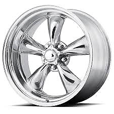 18x8 American Racing Vn 515 Polished Torque Thrust Wheels