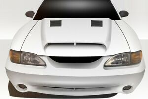 Gt500 Hood 1 Piece For Ford Mustang 94 98 Duraflex
