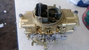 Holley 650 Cfm 4777 Rebuilt Carburetor Double Pumper With Live Video Testing
