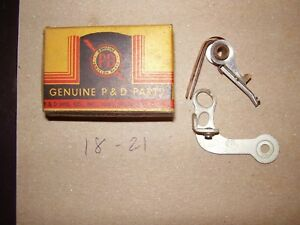 Vintage Nors P D Chrysler 1939 1940 1941 Ignition Points