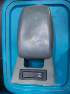 1987 1993 Ford Mustang 5 0 Smoke Grey Center Console Armrest Arm Rest Gt Lx Oem