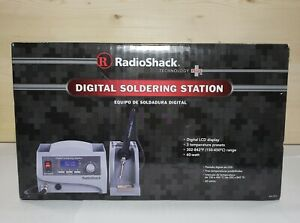 New Radio Shack Digital Soldering Station With Soldering Pencil Stand 64 053