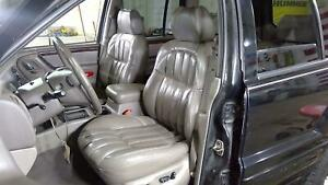 00 04 Jeep Grand Cherokee Wj Leather Seat Set Front Rear Taupe L5