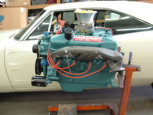 1968 Plymouth Dodge Mopar D 440 Hp V8 Complete Engine Free Shipping