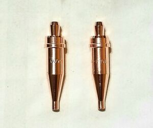 New Victor Style 000 1 101 Acetylene Cutting Torch Tip Lot Of 2 St2600fc Ca2460