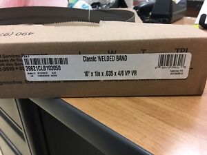 10 X 1 X 035 X 4 6 Lenox Bandsaw Blade Classic Welded Band New In Box
