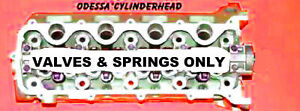 1 New Ford F150 4 6 5 4 Sohc 3 Val Cylinder Head 3l3e Val spr Only Left Side