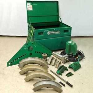 Greenlee 884 885 Hydraulic Conduit Bender 980 Pump Missing Small Parts As is