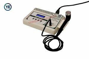 New 3 Mhz Frequency 03 Lcd Ultrasound Therapy Physiotherapy Portable Unit S43