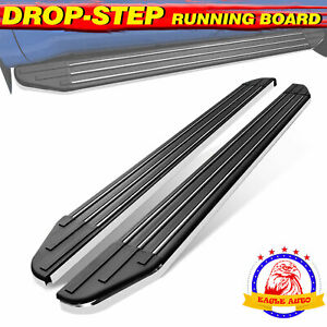 For 09 17 Chevy Traverse Gmc Acadia 5 5 Running Board Side Step Aluminum Oe
