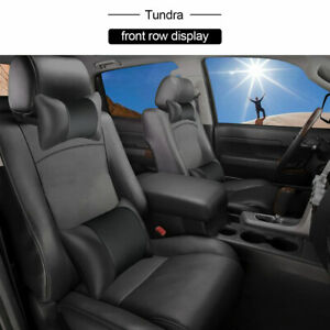 Special For Toyota 2007 2018 Tundra 5 Seat Cover Full Set Pu Leather Cushion