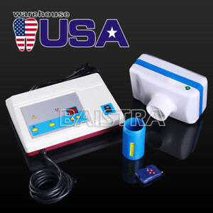 New Dental Portable Digital X ray Imaging Mobile Machine System Us Stock
