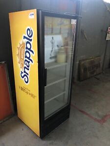 Refrigerated Display Case Snapple Staten Island Pick Up Bargain