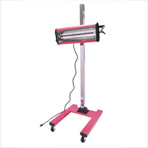 Infrared Baking Heat Lamp Paint Curing 1000w Handy Stand Auto Body Paint Booth