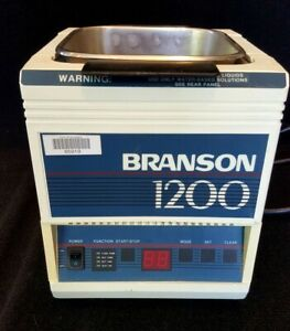 Branson 1200 B1200r 4 Ultrasonic Cleaner