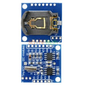 5pcs I2c Rtc Ds1307 At24c32 Real Time Clock Module For Smd Avr Arm Pic Arduino