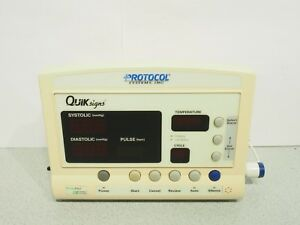 Welch Allyn Protocol Quiksigns Series 52000 Patient Monitor W Temperature Probe