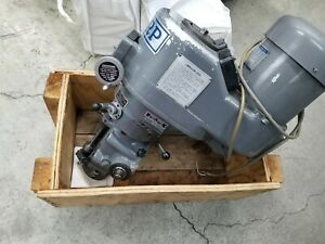 Bridgeport Style Milling Machine Variable Speed Head Sharp Bridgeport Mill